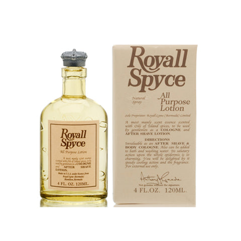 R910M - Royall Fragrances Royall Spyce Of Bermuda All Purpose Lotion for Men | 4 oz / 120 ml - Splash