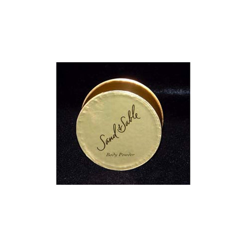 SAN63 - Sand And Sable Body Powder for Women - 2.3 oz / 69 g - With Puff