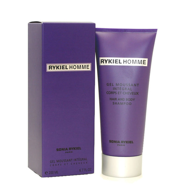RY21M - Rykiel Homme Hair & Body Shampoo for Men - 6.7 oz / 200 ml