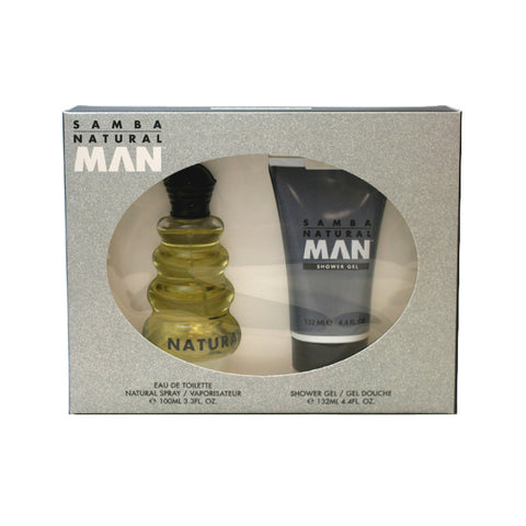 SA40M - Samba Natural 2 Pc. Gift Set for Men