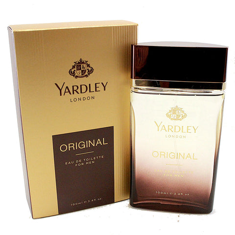 YARO14M-P - Yardley Original Eau De Toilette for Men - 3.4 oz / 100 ml Spray
