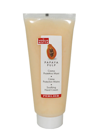 PG62W - Perlier Papaya Pulp Hand Cream for Women - 2.5 oz / 75 g