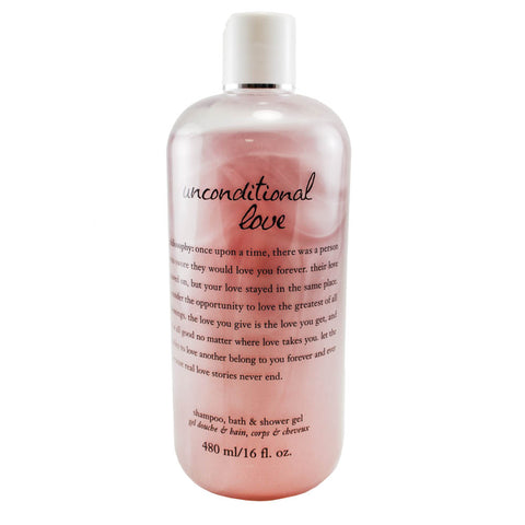 UL18 - Unconditional Love 3-in-1 Shower Gel for Women - 16 oz / 480 g