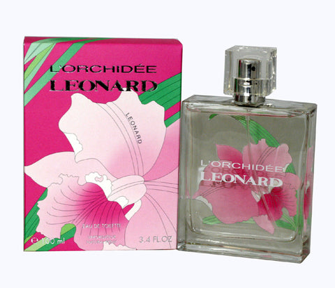 LEO34 - L'Orchidee Eau De Toilette for Women - 3.4 oz / 100 ml Spray