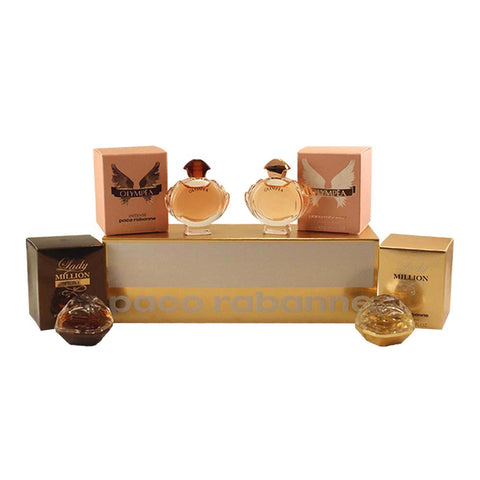 PAC73 - Paco Rabanne Special Travel Edition 4 Pc. Gift Set for Women