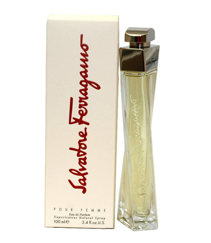 SA252 - Salvatore Ferragamo Eau De Parfum for Women - Spray - 3.4 oz / 100 ml