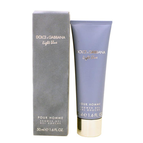 DOLG01M - Dolce & Gabbana Light Blue Pour Homme Shower Gel for Men - 1.7 oz / 50 ml