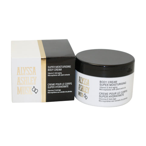 AL71 - Alyssa Ashley Musk Body Cream for Women - 8.5 oz / 250 g