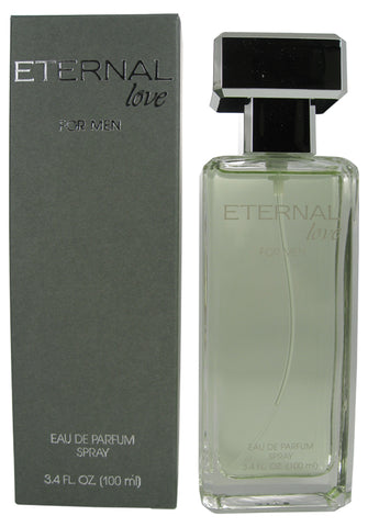 ETE10M-F - Eternal Love Eau De Parfum for Men - Spray - 3.4 oz / 100 ml