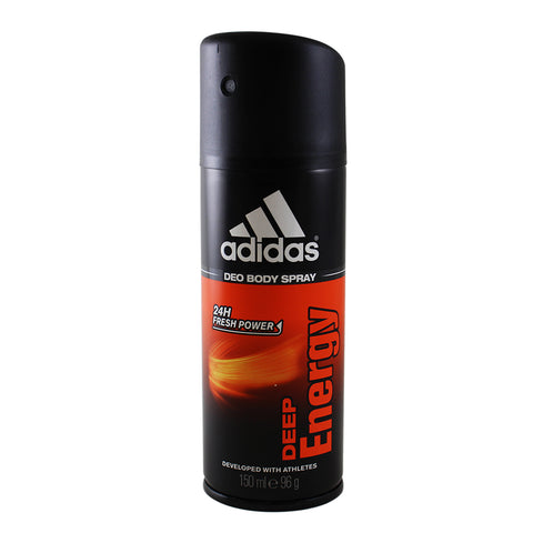 AD59M - Adidas Deep Energy Deodorant for Men - Body Spray - 5 oz / 150 ml