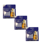 NAV209 - Dana Navy Eau De Cologne for Women | 3 Pack - 0.5 oz / 14.5 ml (mini) - Spray