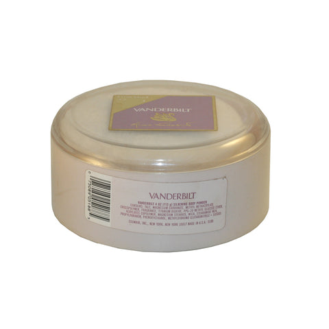 VAN36 - Vanderbilt Body Powder for Women - 4 oz / 120 g - With Puff