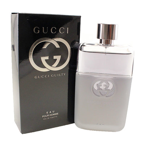 GGE3M - Gucci Guilty Eau Pour Homme Eau De Toilette for Men - 3 oz / 90 ml