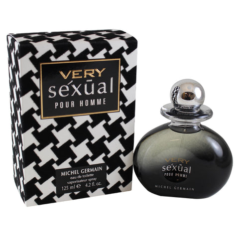 VSX42M - Very Sexual Eau De Toilette for Men - 4.2 oz / 125 ml Spray