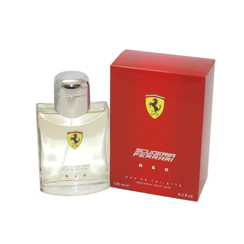 FE40M - Scuderia Ferrari Red Eau De Toilette for Men - 4.2 oz / 125 ml Spray