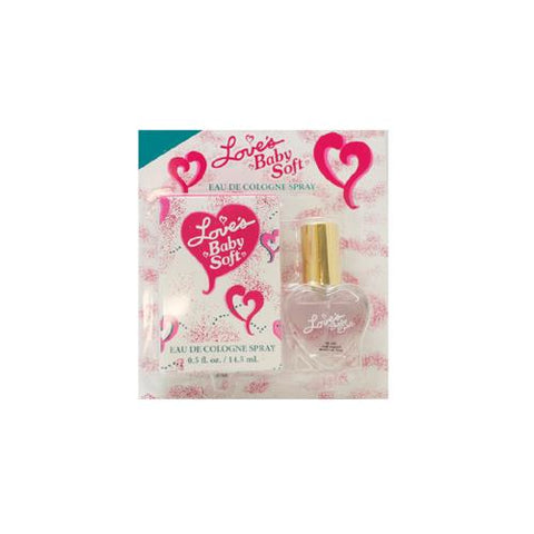 LOV19 - Mem Love's Baby Soft Eau De Cologne for Women | 0.5 oz / 14.5 ml (mini) - Spray