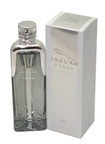 JFV34M - Jaguar Fresh Verve Man Eau De Toilette for Men - Spray - 3.4 oz / 100 ml