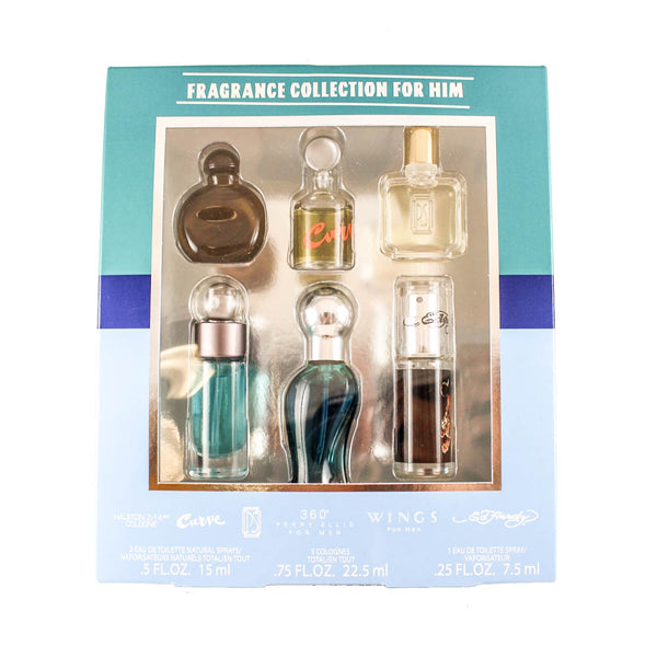 DFC13M - Fragrance Collection For Him 6 Pc. Gift Set for Men