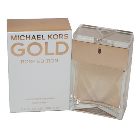 MKR34 - Michael Kors Gold Rose Edition Eau De Parfum for Women - Spray - 3.4 oz / 100 ml