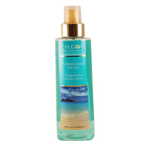 TQ12 - Calgon Turquoise Seas Body Mist for Women - 8 oz / 236 ml