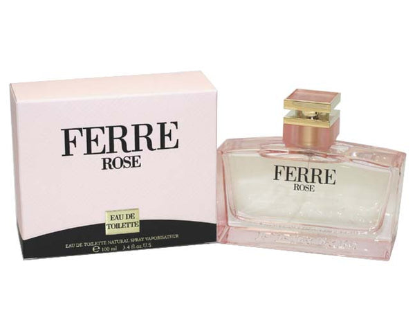 FER34 - Ferre Rose Eau De Toilette for Women - 3.4 oz / 100 ml Spray