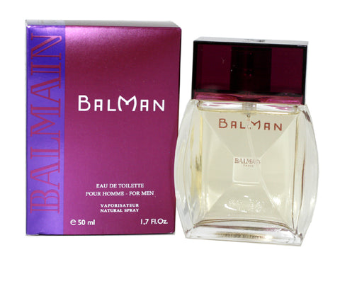 BAL17M - Balman Eau De Toilette for Men - 1.7 oz / 50 ml
