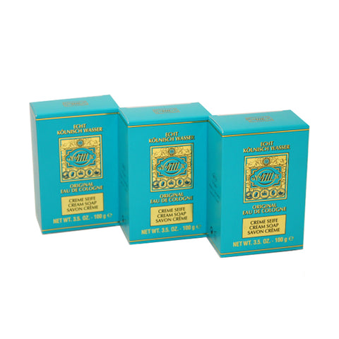 AA75M - 4711 Soap for Men - 3 Pack - 3.5 oz / 105 ml
