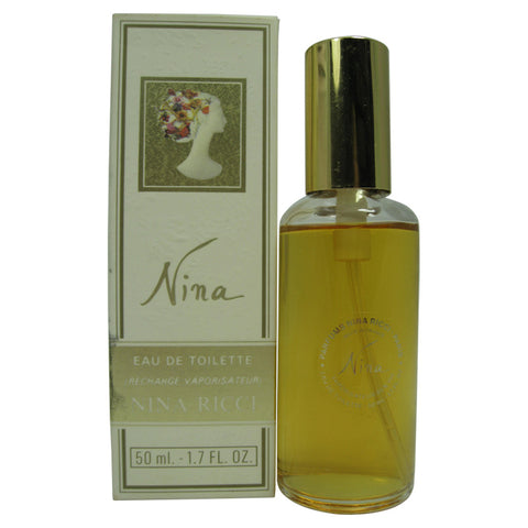 NI27 - Nina (Classic) Eau De Toilette for Women - Spray - 1.7 oz / 50 ml - Refill