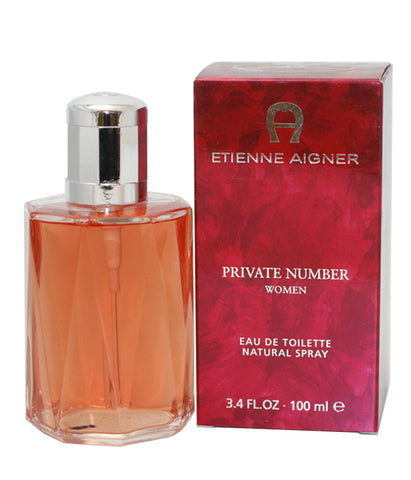PR44 - Private Number Eau De Toilette for Women - 3.4 oz / 100 ml Spray