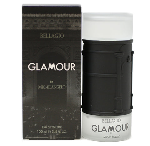 BE41M - Bellagio Glamour Eau De Toilette for Men - Spray - 3.4 oz / 100 ml