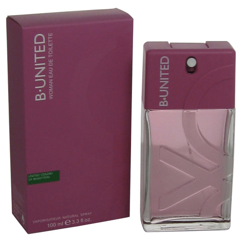 UNI23 - B-United Eau De Toilette for Women - Spray - 3.3 oz / 100 ml