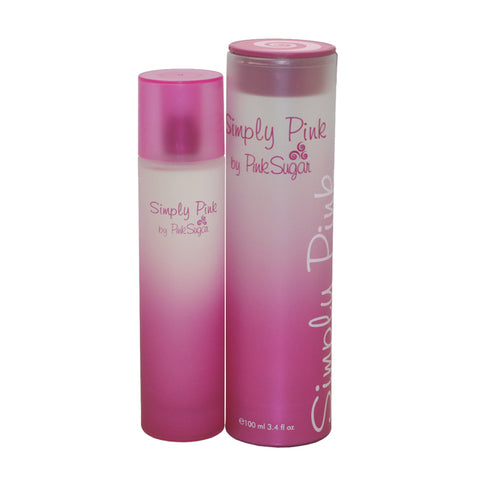 PSP34 - Pink Sugar Simply Pink Eau De Toilette for Women - 3.4 oz / 100 ml Spray