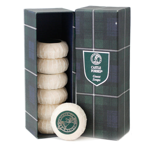 CF59M - Castle Forbes Soap for Men - 7 Pack - 1 oz / 30 g - Pack