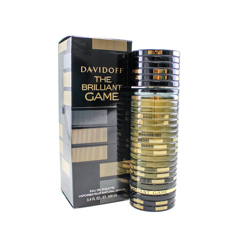 DAG34M - Davidoff The Brilliant Game Eau De Toilette for Men - 3.4 oz / 100 ml Spray