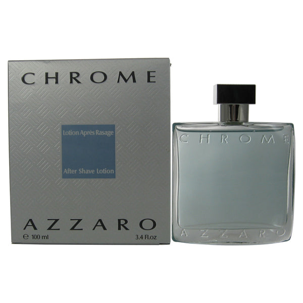 CH97M - Loris Azzaro Chrome Aftershave for Men | 3.4 oz / 100 ml