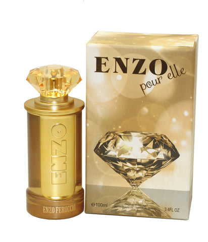 EFE34 - Enzo Pour Elle Eau De Parfum for Women - Spray - 3.4 oz / 100 ml