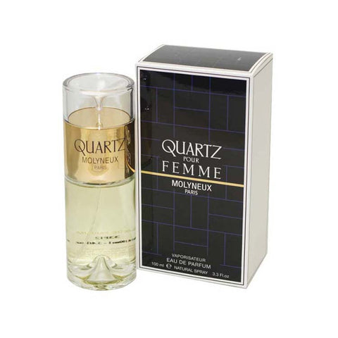 QU14 - Quartz Eau De Parfum for Women - 3.3 oz / 100 ml Spray