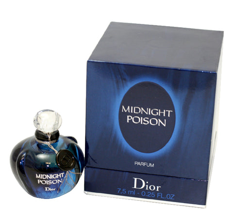MID12 - Christian Dior Midnight Poison Parfum for Women | 0.25 oz / 7.5 ml (mini)