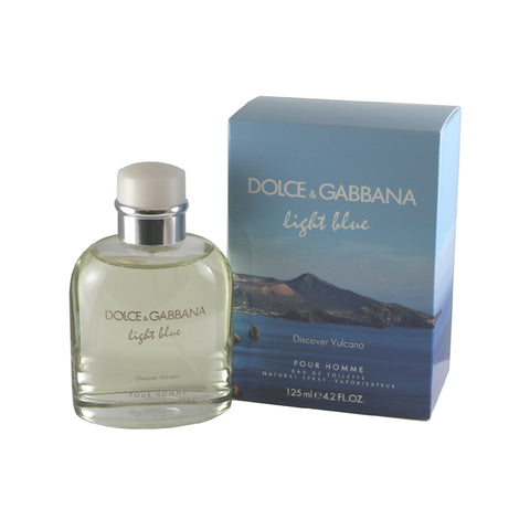 DGV42M - Light Blue Discover Vulcano Eau De Toilette for Men - Spray - 4.2 oz / 125 ml