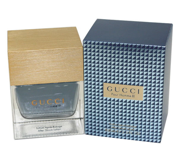 GU214M - Gucci Pour Homme Ii Aftershave for Men - Lotion - 3.3 oz / 100 ml