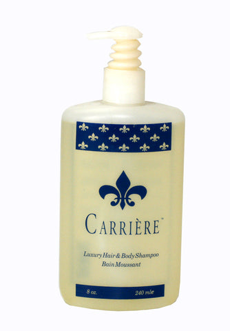 CAR8W-F - Carriere Luxury Hair & Body Shampoo for Women - 8 oz / 240 ml