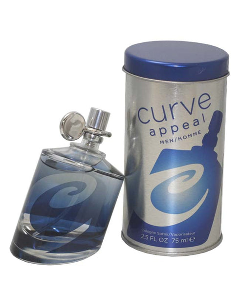 CA25M - Curve Appeal Cologne for Men - Spray - 2.5 oz / 75 ml