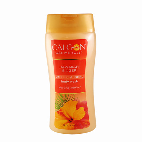 HAW21 - Calgon Hawaiian Ginger Body Wash for Women - 16 oz / 473 g