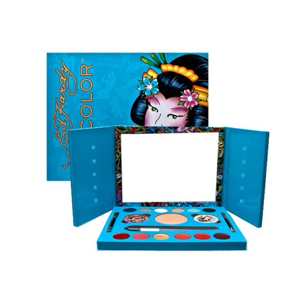 EDG58 - Ed Hardy Color Geisha Makeup Set for Women - Default Title
