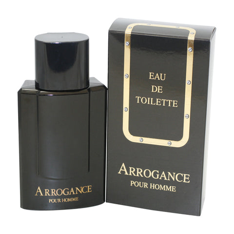ARR100 - Arrogance Pour Homme Eau De Toilette for Men - Spray - 3.3 oz / 100 ml