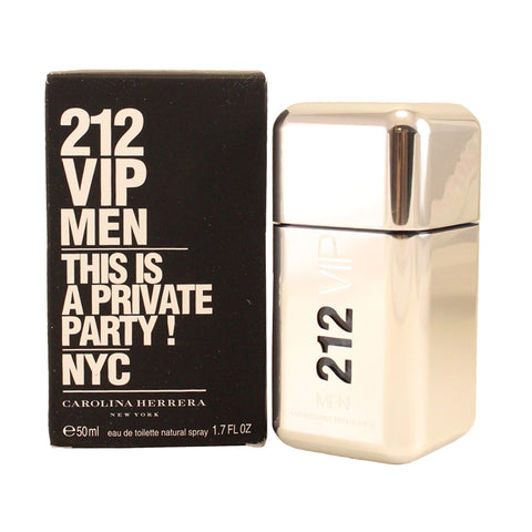 VIP17M - 212 Vip Men Eau De Toilette for Men - 1.7 oz / 50 ml Spray