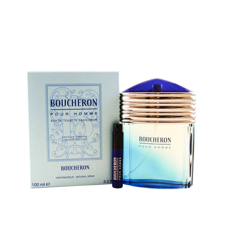 BO61M - Boucheron Eau De Toilette for Men - 3.3 oz / 100 ml Spray Limited Edition