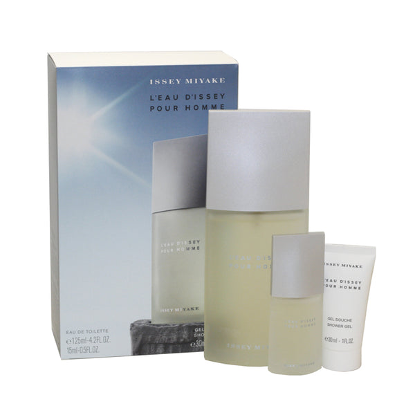 LE102M - L'Eau De Issey 3 Pc. Gift Set for Men