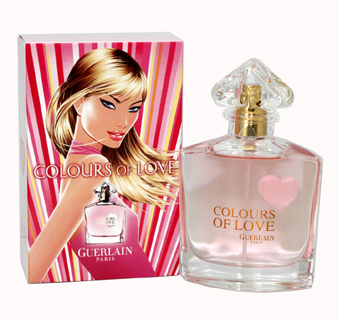 COL11 - Colours Of Love Eau De Toilette for Women - Spray - 1.7 oz / 50 ml