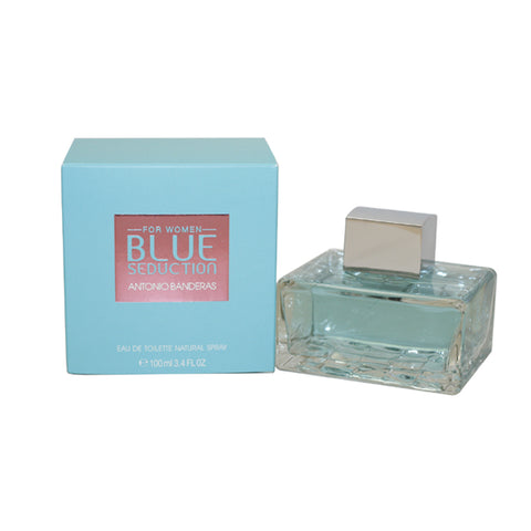 BS25 - Blue Seduction Eau De Toilette for Women - 3.4 oz / 100 ml Spray